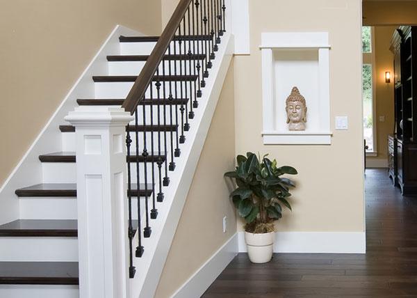 Comment positionner ses escaliers sur 2 étages?