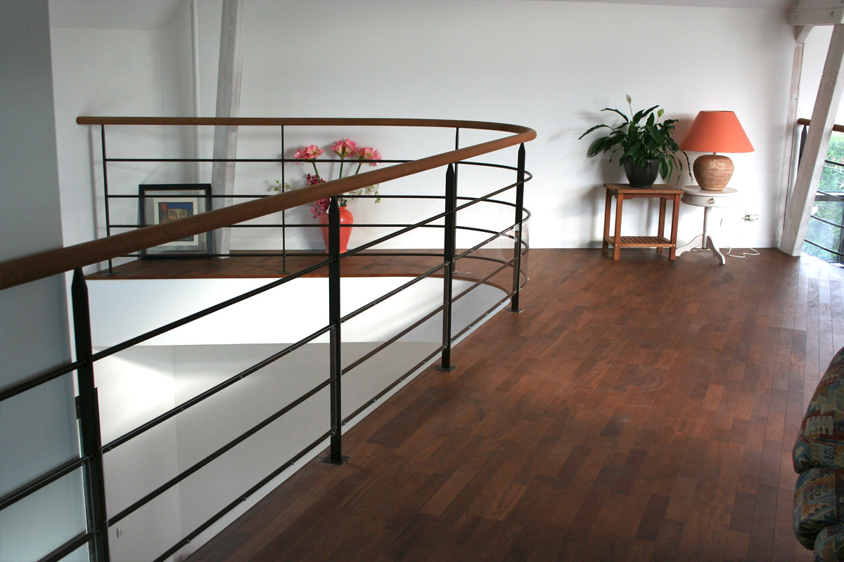 Faire un balustrade mezzanine, comment faire ?