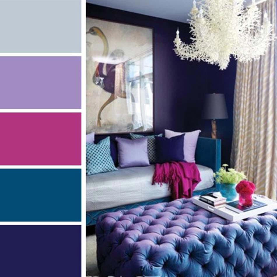 L'harmonisation des couleurs dans une maison